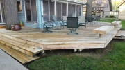 Wood Deck After
