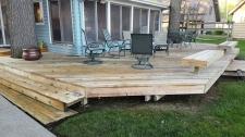 Wood Deck After