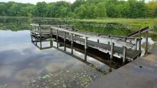 Wood Dock Before