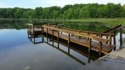 Wood Dock After