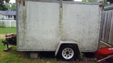 Enclosed Trailer - Before