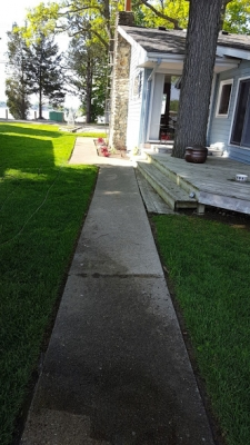 Sidewalk Before